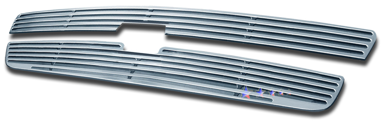 Chevrolet Silverado 1500 2007-2012 Polished Main Upper Perimeter Grille