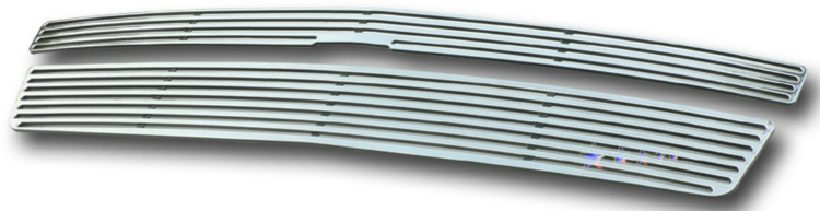 Chevrolet Suburban  2007-2012 Polished Main Upper Perimeter Grille