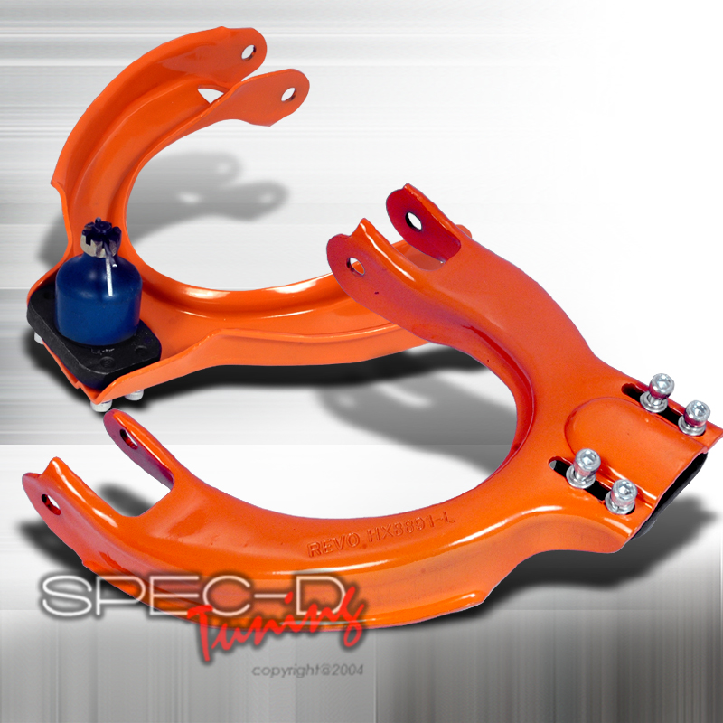 Honda Civic 1988-1991 Adjustable Front Camber Kit, Alignment Kit (Orange)