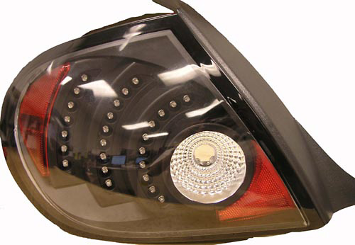 Dodge Neon 2.0 03-05 Black LED Tail Lights