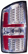 Dodge Ram 02-06 Chrome LED Tail Lights