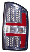 Dodge Ram 02-06 Gun Metal LED Tail Lights