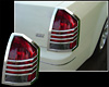 2007 Chrysler 300C /300  Chrome Tail Light Trim Bezels