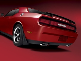 Dodge Challenger   2008-2011 Factory Style Rear Spoiler - Painted