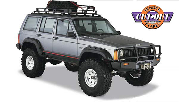 Jeep Cherokee 84-01 XJ 4 Door Cut-Out Fender Flares