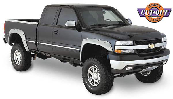 Chevrolet Silverado HD 99-02 Cut-Out Fender Flares