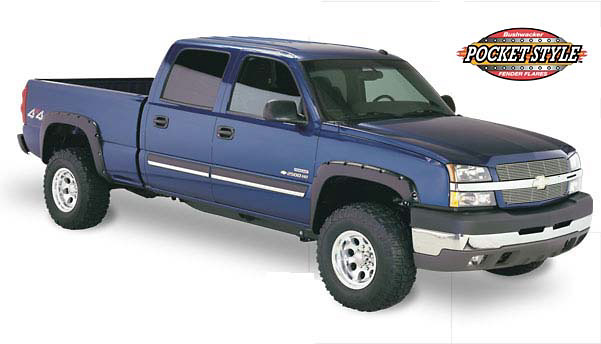 Chevrolet Silverado HD 03-05 Pocket Style Fender Flares