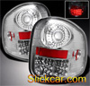 1998 Ford F150 Flareside  LED Tail Lights Chrome