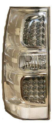 GMC Yukon  2007 - 2008 LED Tail Lights Chrome
