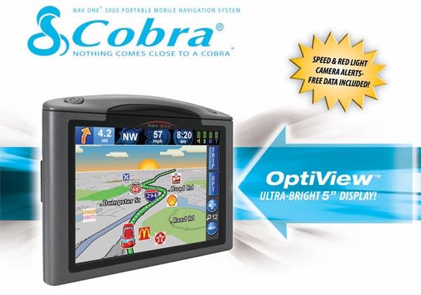 Cobra GPSM5000 Mobile GPS System