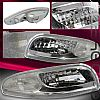 2004 Chevrolet Corvette  Clear Parking Lights