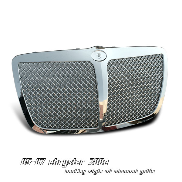 Chrysler 300c 2005-2007  Bentley Style Front Grill
