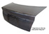 Aftermarket Trunk Lids - Dodge Challenger Carbon Fiber Trunk Lids