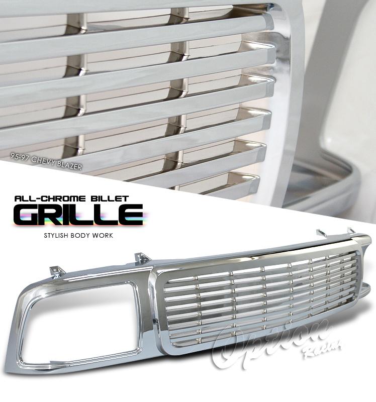 Chevrolet Blazer 1995-1997  Billet Style Front Grill