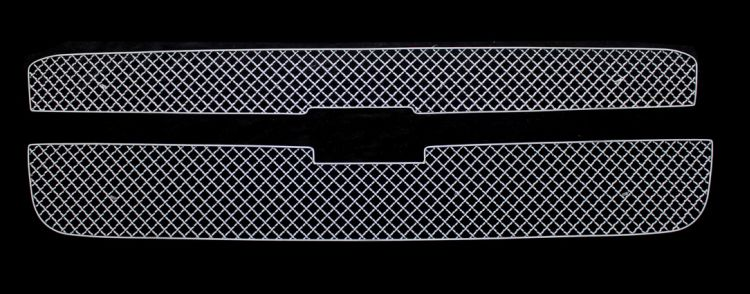 Chevrolet Avalanche  2001-2006 Chrome Main Upper X Mesh Grille