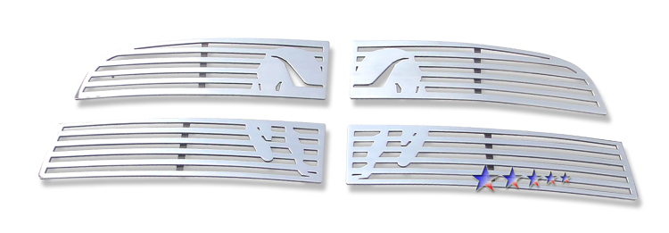 Dodge Ram 1500 Sport 2009-2012 Polished Main Upper Symbolic Grille