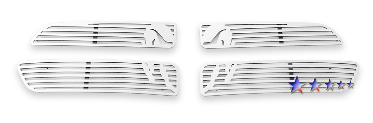 Dodge Durango  2011-2012 Polished Main Upper Symbolic Grille