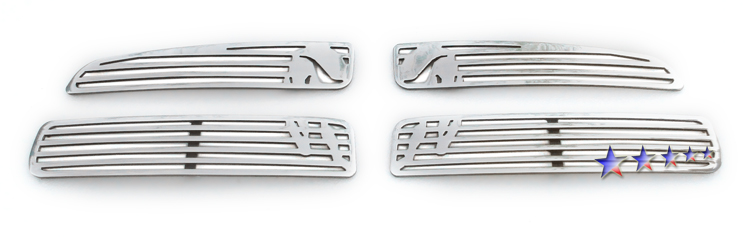 Dodge Charger  2011-2012 Polished Main Upper Symbolic Grille