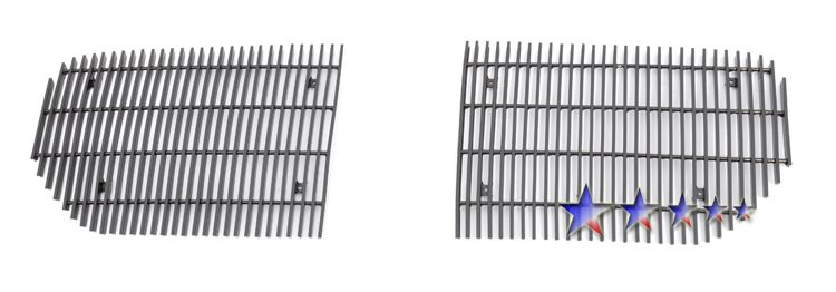 Dodge Magnum  2005-2007 Black Powder Coated Main Upper Black Aluminum Billet Grille