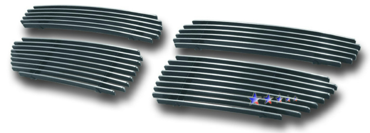 Dodge Stratus  2001-2003 Polished Main Upper Aluminum Billet Grille