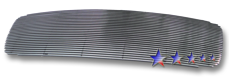 Dodge Ram 3500 2002-2005 Polished Main Upper Aluminum Billet Grille