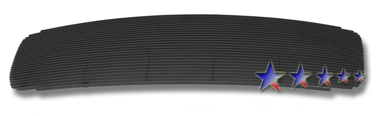 Dodge Ram 3500 2002-2005 Black Powder Coated Main Upper Black Aluminum Billet Grille