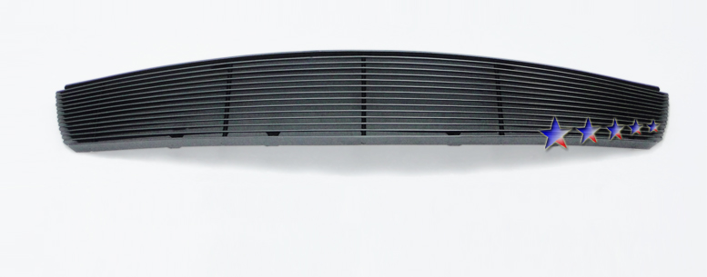 Dodge Durango  1997-2003 Black Powder Coated Main Upper Black Aluminum Billet Grille