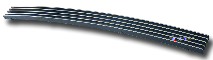 Dodge Ram  2006-2008 Polished Lower Bumper Stainless Steel Billet Grille
