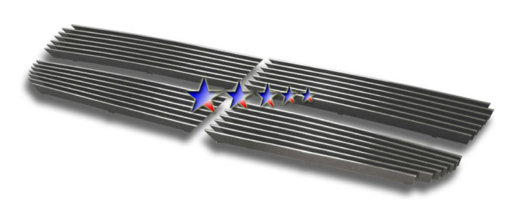 Dodge Charger  2005-2010 Polished Main Upper Stainless Steel Billet Grille