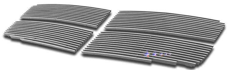 Dodge Durango  2007-2010 Polished Main Upper Aluminum Billet Grille