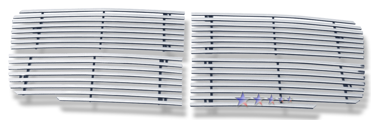 Dodge Durango 07-10 Polished Stainless Steel Main Front Grill