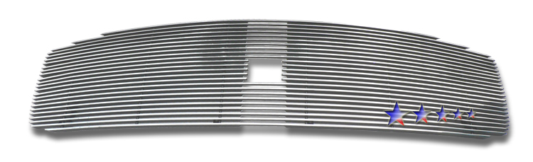 Dodge Durango  2004-2006 Polished Main Upper Aluminum Billet Grille