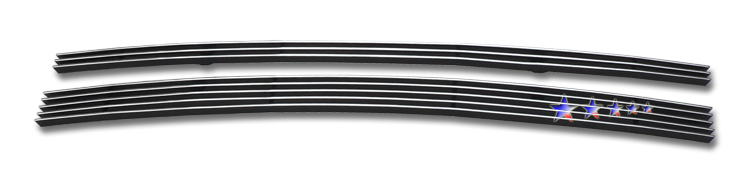 Dodge Magnum  2008-2008 Polished Lower Bumper Aluminum Billet Grille