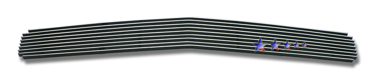 Dodge Challenger  2009-2012 Polished Main Upper Aluminum Billet Grille