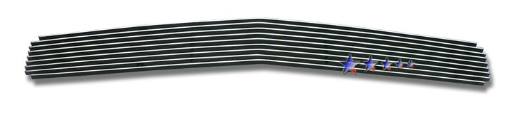 Dodge Challenger  2009-2012 Polished Main Upper Stainless Steel Billet Grille