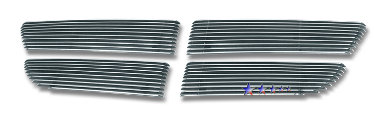 Dodge Sprinter  2007-2010 Polished Main Upper Aluminum Billet Grille