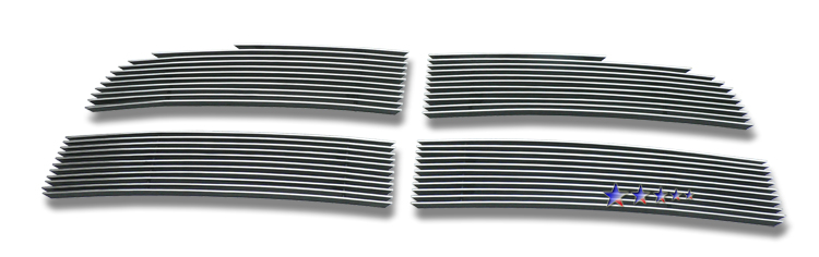 Dodge Ram 1500 Sport 2009-2012 Polished Main Upper Aluminum Billet Grille