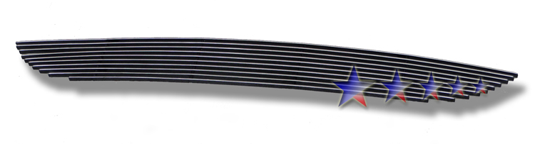 Dodge Caravan  2011-2012 Polished Lower Bumper Aluminum Billet Grille