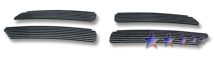 Dodge Durango  2011-2012 Polished Main Upper Aluminum Billet Grille