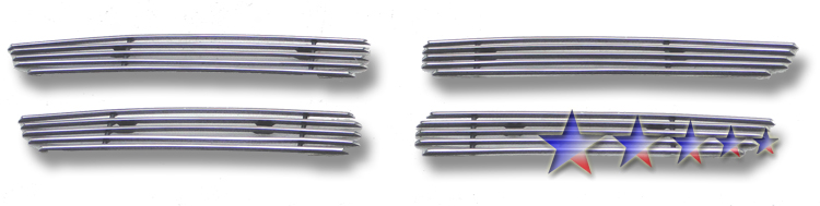 Dodge Avenger  2011-2012 Polished Main Upper Aluminum Billet Grille