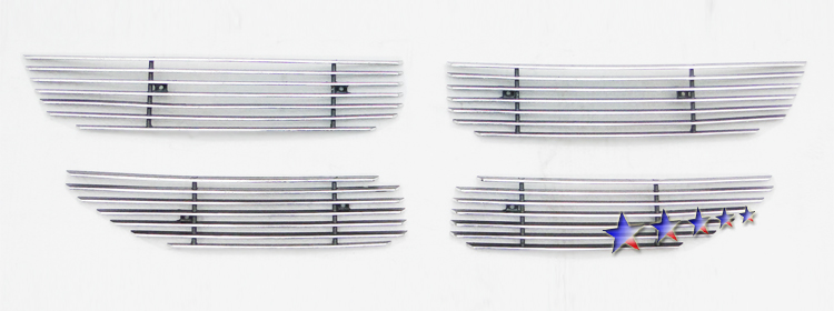 Dodge Journey  2011-2012 Polished Main Upper Aluminum Billet Grille