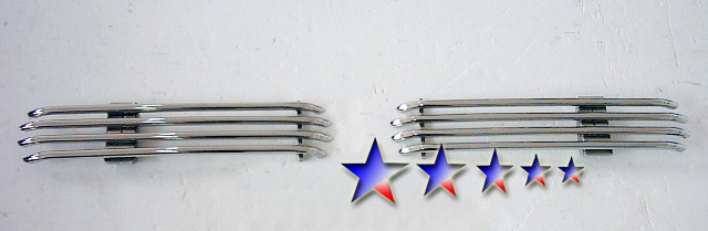 Dodge Ram  1994-2001 Polished Lower Bumper Tubular Grille