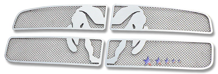 Dodge Ram  2002-2005 Chrome Main Upper Symbolic Grille