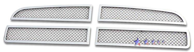 Dodge Charger  2005-2010 Chrome Main Upper Mesh Grille