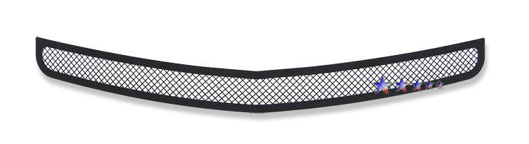 Dodge Charger  2005-2010 Black Powder Coated Lower Bumper Black Wire Mesh Grille