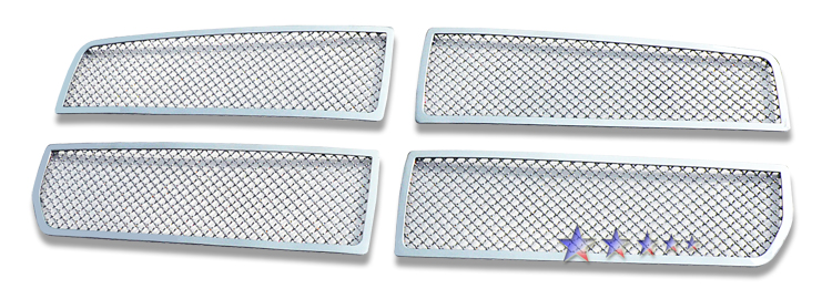 Dodge Dakota  2005-2007 Chrome Main Upper Mesh Grille