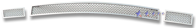 Dodge Avenger Sxt 2007-2010 Chrome Lower Bumper Mesh Grille