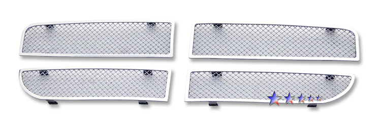 Dodge Magnum  2008-2008 Chrome Main Upper Mesh Grille