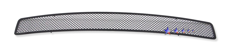 Dodge Challenger  2009-2012 Balck Powder Coated Main Upper Black Wire Mesh Grille