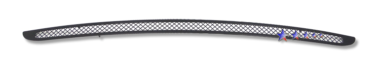 Dodge Challenger  2009-2010 Black Powder Coated Lower Bumper Black Wire Mesh Grille